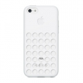 Apple Silicone Case for iPhone 5C - White (MF039)